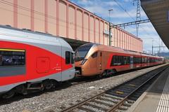 SOB - FLIRT RABe 526 Traverso (Kecko) Tags: 2019 kecko switzerland swiss schweiz suisse svizzera ostschweiz rheintal stmargrethen sg railway railroad eisenbahn bahn zug train station bahnhof sbb sob südostbahn stadler flirt rabe5262068 traverso voralpenexpress trenogottardo swissphoto geotagged geo:lat=47453660 geo:lon=9636980
