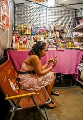 Ratchada Rot Fai night market Din Daeng (11) (walterkolkma) Tags: thailand market bangkok dindaeng rama9 night color vendors shopping thai food stalls kolkma panasonic gx850 gx9