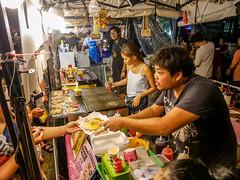 Ratchada Rot Fai night market Din Daeng (1) (walterkolkma) Tags: thailand market bangkok dindaeng rama9 night color vendors shopping thai food stalls kolkma panasonic gx850 gx9