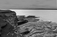Nash Point 03 (Rhondda_Lad) Tags: nashpoint olwgclub uk wales valeofglamorgan seascape bw blackandwhite