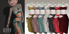 Bijoux Fat Pack Colors (Shine Messmer - Glitter Fashion & Glitter Poses & ) Tags: belleza maitreya slink jomo glitter