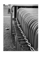 chained (em_ha_er) Tags: chained barriers balckandwhite monochrome streetphotography urban