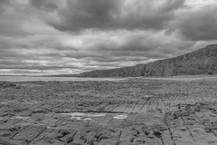Nash Point 02 (Rhondda_Lad) Tags: nashpoint olwgclub uk wales valeofglamorgan seascape bw blackandwhite