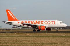 G-EZAM (PlanePixNase) Tags: amsterdam ams eham schiphol planespotting airport aircraft easyjet airbus 319 a319
