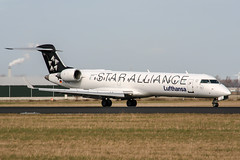 D-ACPQ (PlanePixNase) Tags: amsterdam ams eham schiphol planespotting airport aircraft lufthansa bombardier crj7 canadair 700 staralliance