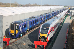 385040-801111-HI-28032019-1 (RailwayScene) Tags: class385 385040 scotrail at200 801111 class801 lner azuma hitachi aycliffe