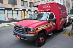 FDNY Chemical Protective Clothing Ladder 12 (Triborough) Tags: nyc newyorkcity ny newyork ford chelsea manhattan firetruck cpc fireengine fdny f450 newyorkcounty fseries newyorkcityfiredepartment knapheide cpcl12
