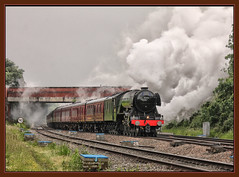 60103 THE FLYING SCOTSMAN (OLD GIT WITH A CAMERA) Tags: 60103 theflyingscotsman railwaytouringcompany standishjunction a3