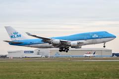 PH-BFK (PlanePixNase) Tags: amsterdam ams eham schiphol planespotting airport aircraft klm boeing 747400 747 jumbo b744