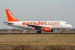 G-EZAB (PlanePixNase) Tags: amsterdam ams eham schiphol planespotting airport aircraft easyjet airbus 319 a319