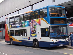 Stagecoach TransBus Trident (TransBus ALX400) 18152 PX04 DPF (Alex S. Transport Photography) Tags: bus outdoor road vehicle stagecoach stagecoachmidlandred stagecoachmidlands unusual alx400 alexanderalx400 dennistrident transbustrident trident transbusalx400 routex46 18152 px04dpf