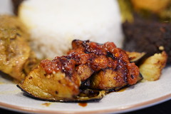 Terong balado - Nasi Padang AUD22 - Warung Kartini, Oakleigh - sambal eggplant (avlxyz) Tags: indonesianfood rice curry nasipadang