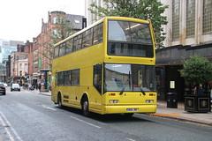 Elite, Stockport W124 JDX (SelmerOrSelnec) Tags: elite stockport scania n113 eastlancs pyoneer manchester deansgate chambersbures bus w124jdx
