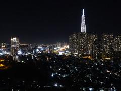 201905185 Ho CHi Minh City (taigatrommelchen) Tags: 20190522 vietnam hochiminhcity icon night city building skyline