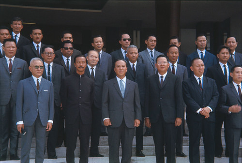 President Nguyen Van Thieu and 31 Members of the Cabinet