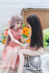 色がつく (qrouchan) Tags: ドルフィードリーム ドール dd canoneos5dmarkⅳ canon ef85mmf12lⅱusm dollfiedream doll