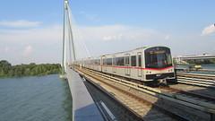 U-Bahnspotting Highlight (_TheBigF) Tags: wien österreich zug bahnhof ubahn brücke fluss verkehr 2018