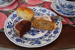 Meine halben Muffins (multipel_bleiben) Tags: essen zugastbeifreunden kuchen gebäck muffin