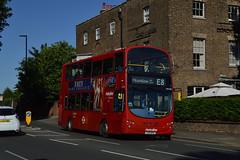 Metroline VW1045 (LK10BXO) on Route E8 (hassaanhc) Tags: metroline comfortdelgro comfortdelgrogroup wrightbus volvo b9tl
