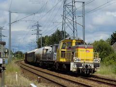Y9094 + Désherbeur + Y9097 (ChristopherSNCF56) Tags: y9000 y9094 y9097 désherbeur train infra sncf réseau lanester lorient