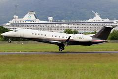 I-CRFX (GH@BHD) Tags: icrfx embraer erj erj135bj legacy legacy600 sirio siriospa bhd egac belfastcityairport bizjet corporate executive aircraft aviation airliner