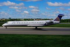 N508MJ (United Express - Mesa Airlines) (Steelhead 2010) Tags: unitedexpress unitedairlines mesaairlines bombardier crj crj700 yyz nreg n508mj