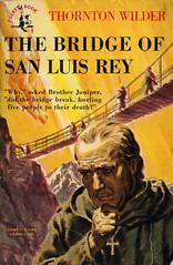 Pocket Books 9 - Thornton Wilder - The Bridge of San Luis Rey (swallace99) Tags: pocketbooks vintage 40s paperback lawrencebutcher