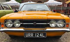 Classic cars at the Rhondda Heritage Park (Wales) June 2019 (LooksTidy) Tags: fordcortina classiccar ford rhondda car
