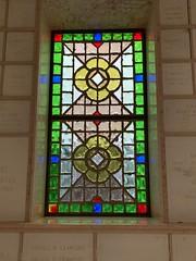 Woodlawn Park North Mausoleum (Phillip Pessar) Tags: rivero caballero woodlawn park north cemetery miami mausoleum stained glass