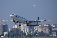 Ural Airlines A321, VQ-BKG, TLV (LLBG Spotter) Tags: airline a321 tlv aircraft vqbkg uralairlines llbg