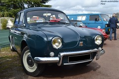 Renault Dauphine (Monde-Auto Passion Photos) Tags: voiture vehicule auto automobile renault dauphine berline bleu blue ancienne classique rare rareté collection rassemblement france courtenay
