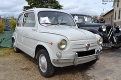 Fiat 600 (Monde-Auto Passion Photos) Tags: voiture vehicule auto automobile fiat 600 petite little blanc white ancienne classique rare rareté collection rassemblement france courtenay