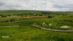 Through North Yorkshire (goprzemo) Tags: hst125 43062 43014 helwith bridge north yorkshire test train diesel