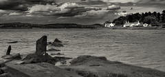 Balmerino (scrimmy) Tags: scotland fife balmerino rivertay dundee blackandwhite monochrome