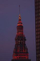 Sunrise Cleveland 5 23 2019 #26 (Az Skies Photography) Tags: may 23 2019 may232019 cleveland ohio oh clevelandoh morning dawn daybreak sky skyiline skyscape cityscape 52319 5232019 canon eos 80d canoneos80d eos80d canon80d architecture building