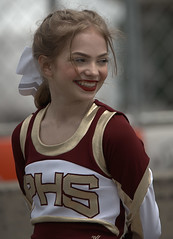 A Great Big Smile (Scott 97006) Tags: smile girl female lady uniform cheerleader smiling pretty beauty happy