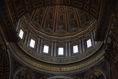 Dome (Ryan Hadley) Tags: stpeters stpetersbasilica cathedral basilica church vatican vaticancity rome italy europe worldheritagesite dome architecture