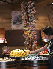 Sweetshop, spoilt for choice! (dramadiva1) Tags: sweets sugar lollipops barrels sweet shop dubrovnik colours additives