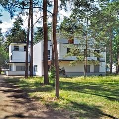 Weiße Kiste | Dessau | 2019 (gordongross) Tags: dessau bauhaus bauhaus100 weissekiste gropius meisterhaeuser