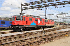 SBB Cargo Re 420 294-1 Circus Knie und Re 420, Muttenz Rbf (michaelgoll777) Tags: sbb re44 re420