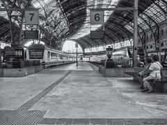 2771  Estación de Francia, Barcelona (Ricard Gabarrús) Tags: tren estacion trenes ferrocarril gente viajar ricardgabarrus olympus ricgaba