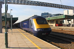 43088 (matty10120) Tags: class railway rail travel transport cardiff central hst high speed train intercity 125 43
