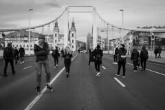 Budapest - Elizabeth Bridge (Anusorn Siri) Tags: olympus penf 17mm f18