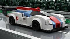 Porsche 919 Evo (EliteGuard01) Tags: lego ldd studio render lemans moc racecar racing speedchampions lmp1 porsche919 evo wec worldendurancechampionship 24hoursoflemans 2019 car legolemans wouldenduracnechampionship automotive autoracing photoshop