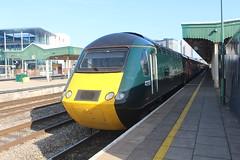 43198 (matty10120) Tags: class railway rail travel transport cardiff central hst high speed train intercity 125 43