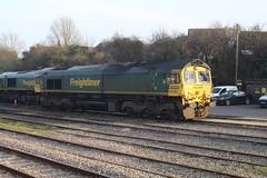 66519 (matty10120) Tags: class railway rail travel transport 66 bristol parkway