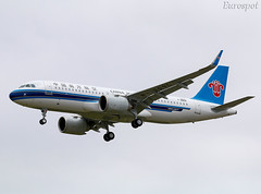 F-WWDR Airbus A320 Neo China Southern (@Eurospot) Tags: fwwdr b309l airbus a320 neo 9035 lfbo toulouse blagnac chinasouthern