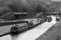 Bugsworth Basin, Peak Forest Canal, Buxworth, Peak District (HighPeak92) Tags: monochrome canals bugsworthbasin peakforestcanal buxworth peakdistrict derbyshire canonpowershotsx700hs