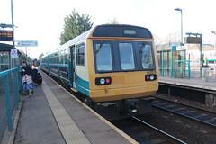 142075 (matty10120) Tags: class railway rail travel transport cathays 142