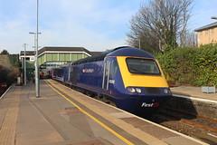 43088 (matty10120) Tags: class railway rail travel transport bridgend hst high speed train intercity 125 43